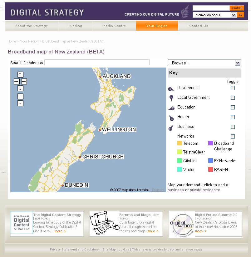 The National Broadband Map - Digital Strategy website